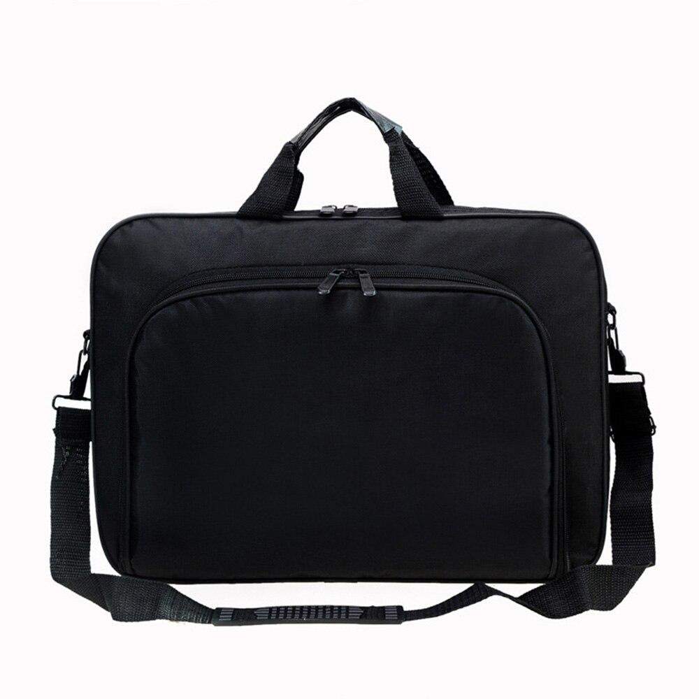 Men Bag Business Nylon Computer Handbags Men Shoulder Laptop Bag Shoulder Laptop Bag Portable Zipper Waterproof Simple