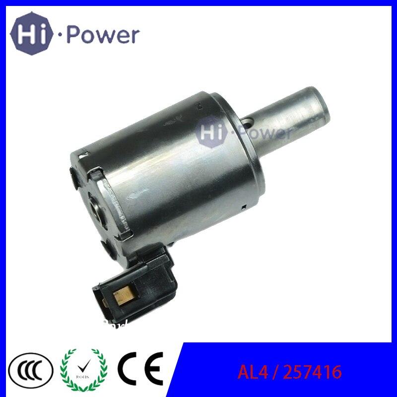 257416 AL4 DPO Gearboxes Lock Up Solenoid  For Citroen Berlingo/Peugeot 257410 9653760480 For Renault 7701208174 257416 2574-16