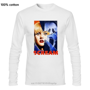 Scream Wes Craven Horror Movie Homme T Shirt Hip Hop Clothing Tshirts 3D Print Tee Shirt O Neck T-Shirts Xxxxl image