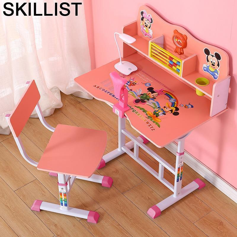 Y Silla Infantil Children Tavolino Bambini Avec Chaise Toddler And Chair Adjustable Kinder Bureau Enfant For Study Kids Table
