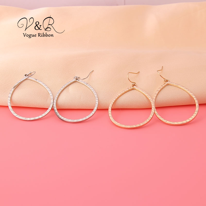 Small Earring Teardrop Everyday Modern Jewelry Teardrop Earrings Minimalist Minimal Earrings Simple Drop Earrings Metal Earrings