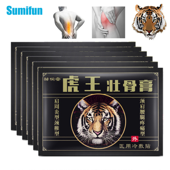 64Pcs/8bags Tiger Balm Pain Relief Patch Knee Neck Arthritis Joint Aches Herbal Sticker Self-heating Pain Killer Medical Plaster 8 48 64pcs joint aches painkiller medical plaster chinese herbal extract knee rheumatoid arthritis pain relief patch health care