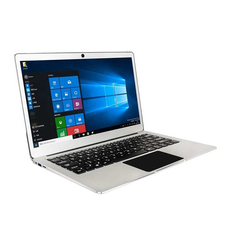 Ezbook מגשר 3 פרו Windows 10 מחשב נייד 13.3 אינץ Fhd לוח פחות, Intel Slim Ultrabook נייד, 6Gb Ram 64Gb Rom, מתכת מעטפת L