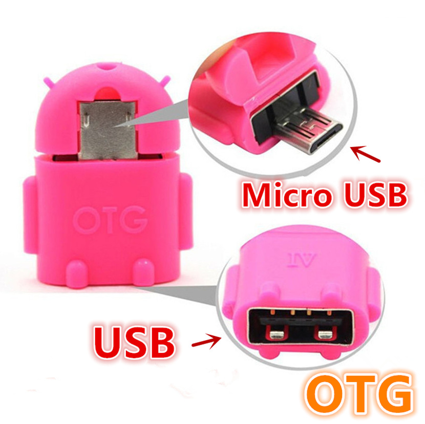 100% Tested OTG Adapter USB to Micro USB Converter Mini OTG Cable Andriod USB OTG Adapter for Tablet PC Android Samsung Xiaomi
