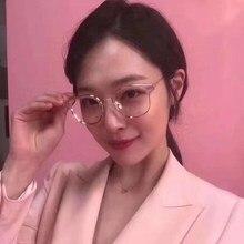 Нежный фирменный дизайн ALIO, женские и мужские, Южная Корея, Ретро стиль, круглые очки, носовой мост, металлическая ацетатная оправа, Чехол для очков