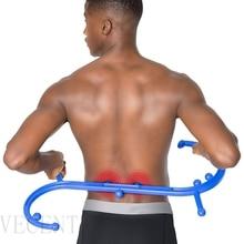 Zurück Neck Massager Trigger Punkt Selbst Massage Stick Therapie Werkzeug Massager Körper Muscle Stimulator Schmerzen Relief Massage Entspannung