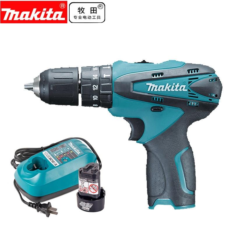 Makita HP330DZ HP330DWE 10.8V HP330D Cordless Hammer Driver Drill