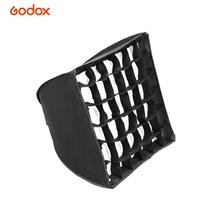 Godox Photography Softbox 30*30cm/ 11.8*11.8in Softbox with Grid Compatible with Godox S30 Focusing LED Video Light