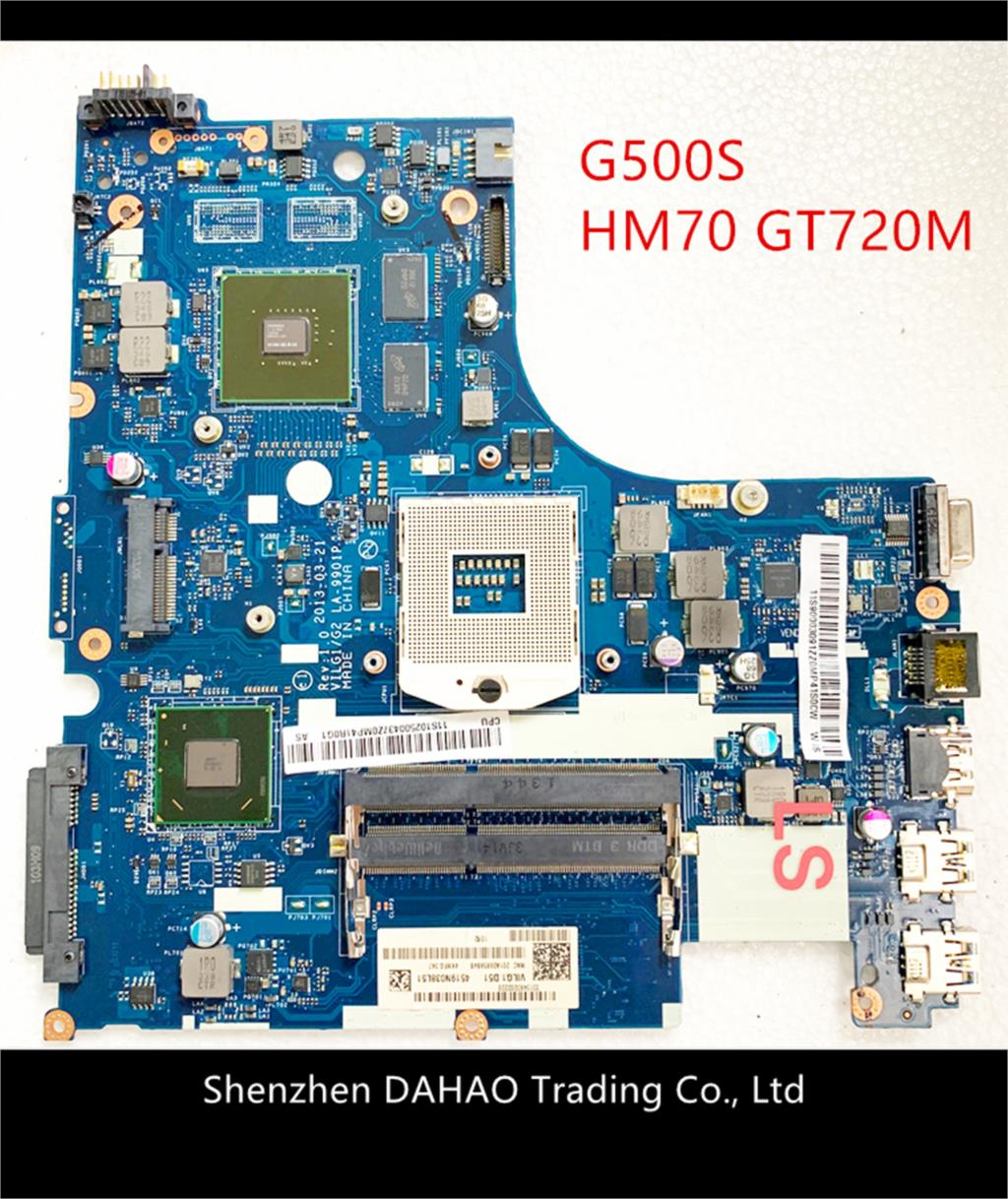 90003085 VILG1/G2 LA-9901P Mainboard For Lenovo G500S laptop motherboard with HM70 GT720M 1GB DDR3 100% Full Tested 1