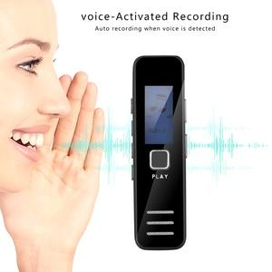 Image 4 - Kebidumei dyktafon cyfrowy nagrywanie MP3 Player 20 godziny mini dyktafon wsparcie karty TF o pojemności 16GB profesjonalny dyktafon