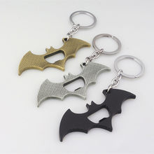2020 New Fashionable Accessories Batman Keychain DC Comics Jewelry 2 USE EDC Bar Beer Bottle Opener Key Chains Keyrings chaveiro(China)