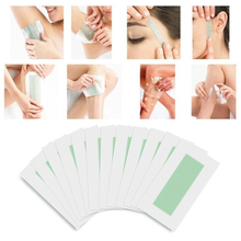 24pcs/set Hair Removal Wax Strips Papers Double Sided Epilator Depilation Uprooted Silky For Face Lip Arm Hair Care High Quality
