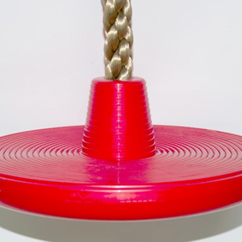 Corde d'escalade de gymnase de Jungle avec des plates-formes et le siège d'oscillation de disque - 5