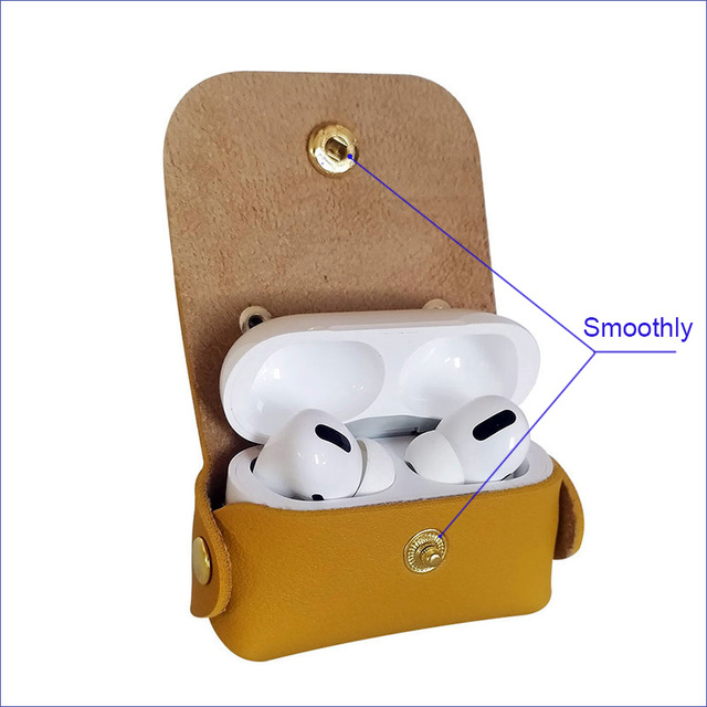 Fringed leather Cover for Airpods Pro 4