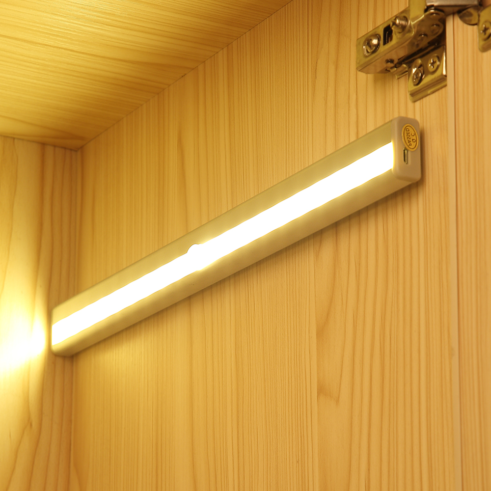 Wireless PIR Motion Sensor Light Infrared Induction Lamp Super Bright Light For Closet Cabinet Wardrobe Stairway Drawer Porch