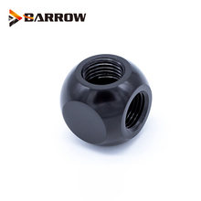 BARROW X3-Way X4-Way Cubic Adaptors G1/4 3 Path / 4 Path Water cooling accessories cooler 3-Way Black Siver Gold Metal Fitting топ спортивный eazy way eazy way mp002xw0zx2n