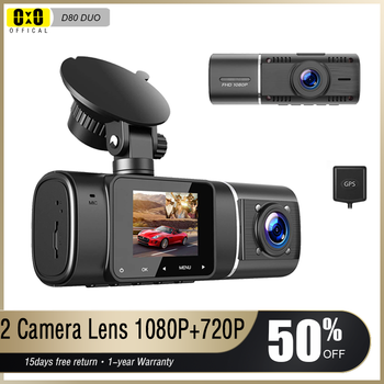Dual Lens Car Dash Cam Dvr Registrator Full HD Video Recorder Front and Inside Cabin Camera for Uber Lyft Taxi Drivers basic dual cam system dual sd card 4 mobile dvr recorder kits for vehicle bus taxi online remote video playback cost effective