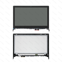 5D10F86069 For Flex 2-14 LCD Touch Screen Bezel Digitizer Assembly 13 3 laptop touch lcd assembly screen digitizer bezel for sony vaio svt131a11l svt131a11t