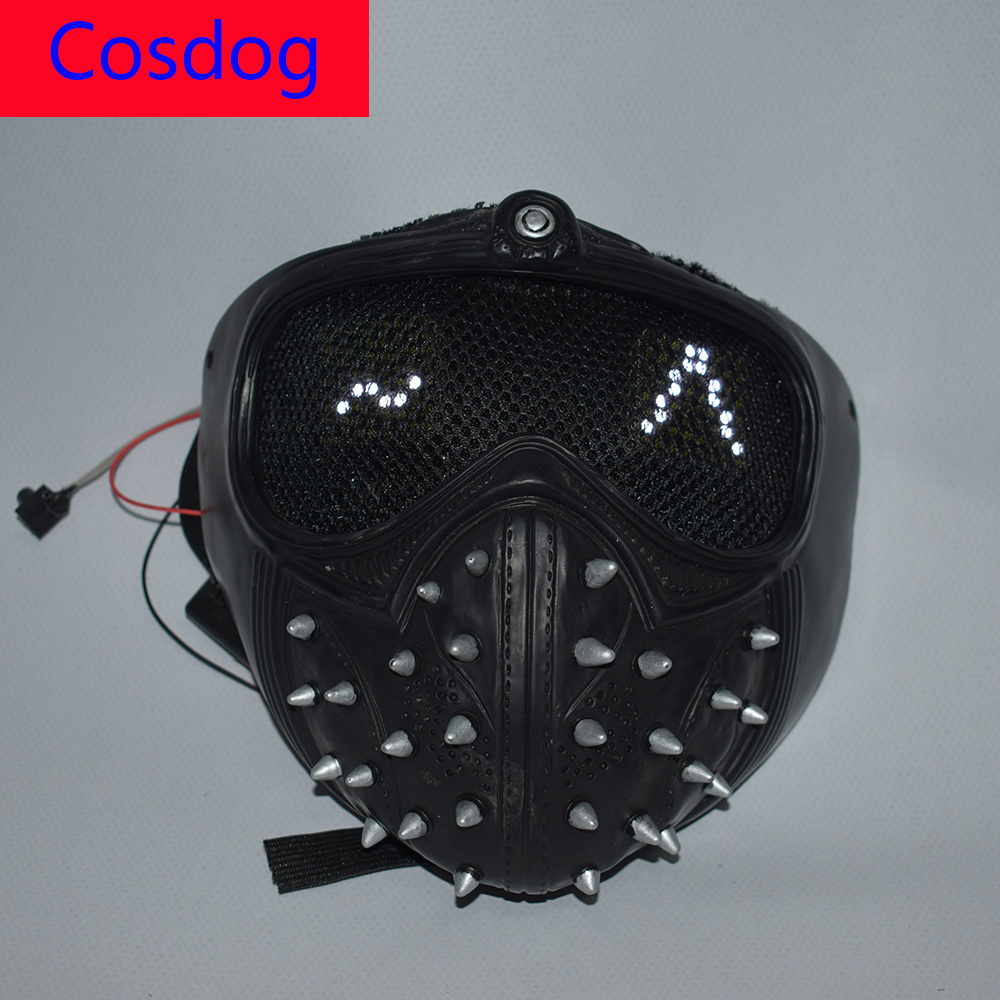 Wrench Mask With LED Expression WD 2 Cosplay