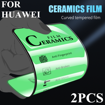 Full Cover Soft Ceramics Film for Huawei P30 Pro P20 Mate 10 20 Lite Tempered Glass Screen Protector for Nova 5t Mate 30Pro 2PCS 20d full cover tempered glass on for huawei p20 p30 lite pro screen protector protective film for mate 10 9 20 lite pro glass
