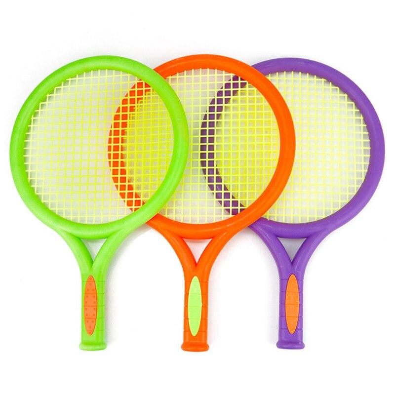 Outdoor Leisure Activity Toys Plastic Badminton Racket Children Kids Play Game Plastic Tennis Badminton Racket Sports Toy Set