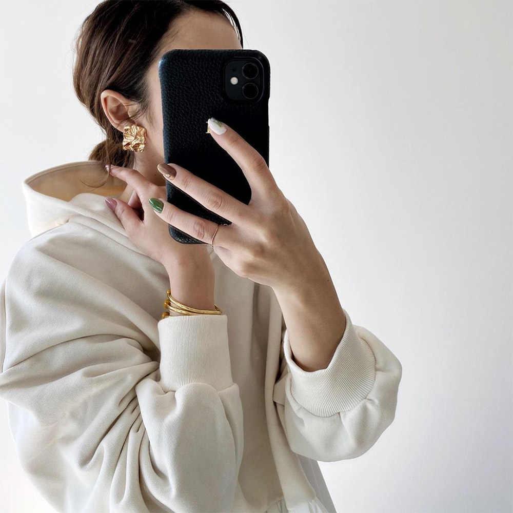 2020 frühjahr Lange Hülse Frauen Hoodie Koreanische Weiß Rüschen Patchwork Lose Pullover Tops Harajuku Übergroßen Sweatshirt Streetwear