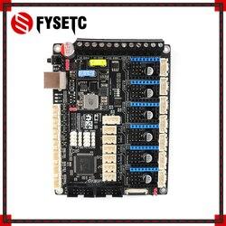 S6 V1.2 32 Bit Board XH złącze płyta sterowania wsparcie 6X sterowników TMC Uart/SPI latający drut's postawy polityczne w F6 V1.3 SKR V1.3