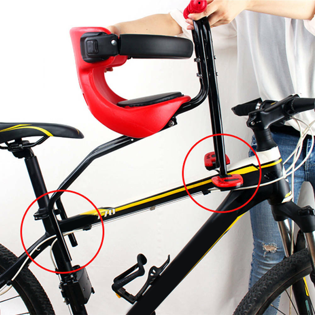 Child Bicycle Seat Kids Saddle Bicycle Bike Front Mount Children Safety Front Seat Saddle Carrier