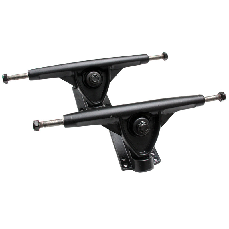 1 Pair Of Skateboard Longboard 7 Inch Trucks Magnesium Alloy Holders Brackets.