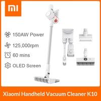 XIAOMI-aspiradora de mano inalámbrica MIJIA Mi K10 para el hogar y el coche, cepillo multifuncional, succión ciclónica de 20kPa