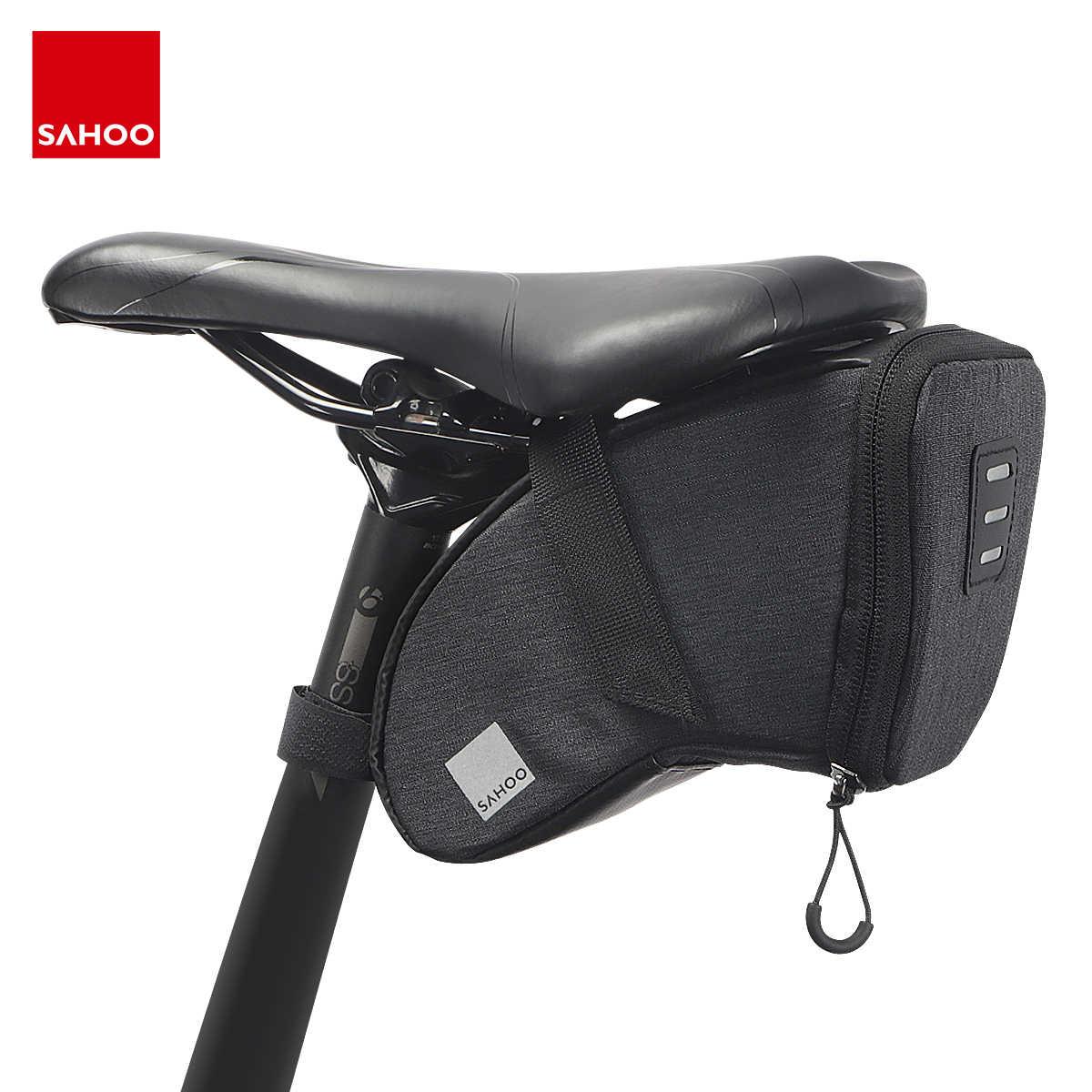 MTB Mountain Bike Bag Pouch Road Bicycle Cycling Seat Saddle Rear Bag Panniers