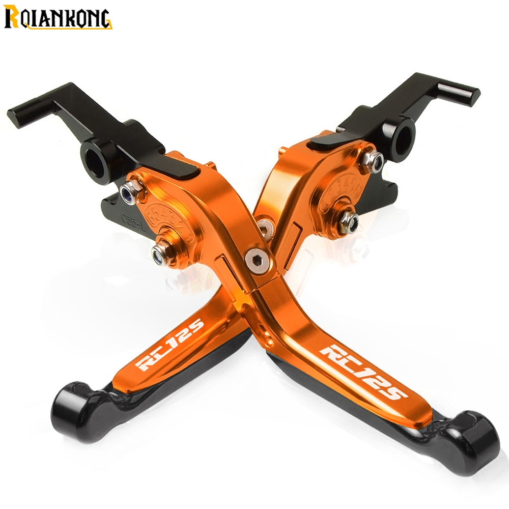 Motorcycle CNC Adjustable Brake Clutch Levers handle For KTM RC125 RC 125 2011 2012 2013 2014 2015 2016 2017