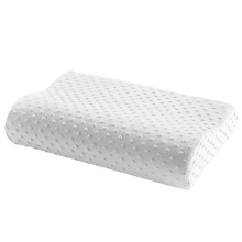 Подушка из пены с эффектом памяти, 3 цвета, Ортопедическая подушка, латексная подушка для шеи, волокно, медленный отскок, мягкая подушка, массажер для шейного отдела, забота о здоровье