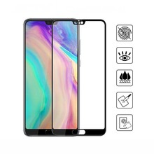 5D Curved Edge Full Covered For Huawei P20 Lite Tempered Glass Screen Protector