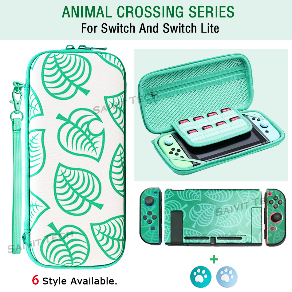 Nintend Switch Case Animal Crossing Nintendos Console Storage Bag for Nitendo Switch Lite AnimalCrossing Accessories