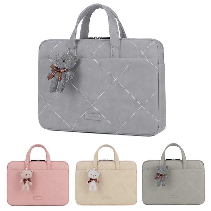 Wasserdicht Nette <font><b>Laptop</b></font> Tasche <font><b>Sleeve</b></font> 12 13 14 15 15,6 Zoll Notebook Tasche Für Macbook Air Pro 13,3 15,4 Dell asus HP Acer <font><b>Laptop</b></font> Fall image