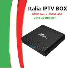X96 Air Tv Box Android 9.0 con L'italia Abbonamento Iptv 10000Live & Vod Iptv Germania Albania Regno Unito Stati Uniti D'america Arabo iptv M3u Set Top Box Tv(China)