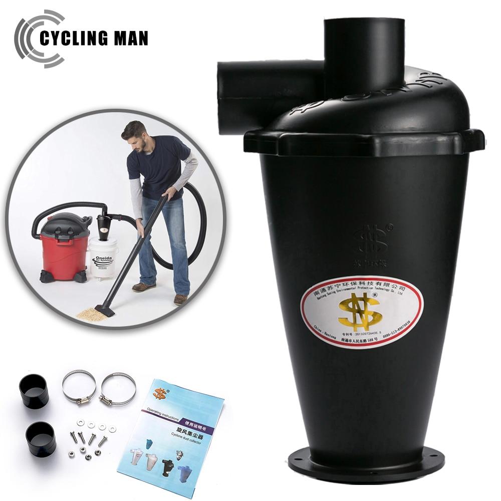 Sn50t6 sexta geração turbo ciclone aspirador de pó filtro industrial & doméstico sem saco coletor poeira com flange