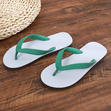 HKXN New Anti-skid Men's Flip-flops Sandals Outdoor Casual Beach Shose Slipper 2020 Summer Fashion Slippers Men T(China)