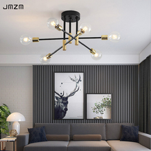 JMZM Modern Nordic Chandelier LED Lighting 4/6/8 Hanging Lights Indoor Dining Light Fixtures