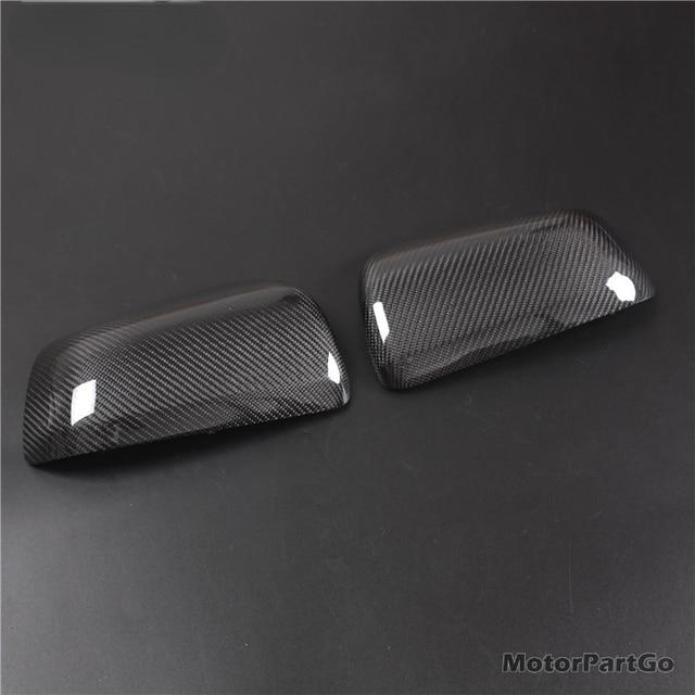 Real Crabon Fiber Mirror Cover 1 pair for  Mitsubishi Lancer EX EVOX 2009 -2016  T247M 3