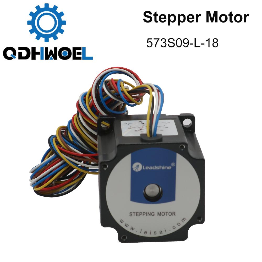 H72e88a4b72f846f6adf798946b904754x - QDHWOEL Leadshine 3 Phase Stepper Motor 573S09-L-18 for NEMA23 3.5A Length 50mm Shaft 6.35mm