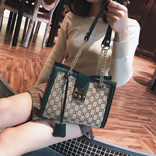2019 Classic dress style women handbag OL tote Diamond Lattice leather shoulder bag luxury Top-handle bags For Women
