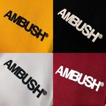 Men Women Hoodie Ambush Hoodies Crew Neck Sweatshirts 4 Colors Better Quality Cotton Long Sleeves Vetements Streetwear