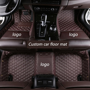 Image 5 - kalaisike Custom car floor mats for Porsche All Models Cayman Macan Panamera Cayenne Boxster 718 car styling accessories