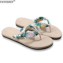 Sandals Slip-On Women Flip Flop Slides Flat-Shoes Fashion Summer Beach Sole Floral Female