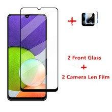 2 sztuk szkło do Samsung Galaxy A22 szkło hartowane do Samsung Galaxy A22 4G 5G M22 F22 A12 A52 A72 A12 A32 M51 ochraniacz ekranu