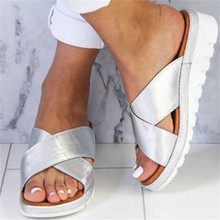Dropshipping Good Quality Summer Wedge Sandals Shoes Woman O
