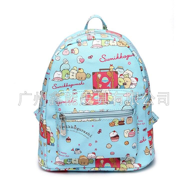 Corner Biological Backpack Cute Corner Schoolbag Cartoon Animation Waterproof Dirt Backpack