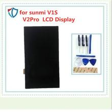 for sunmi V1S V2Pro  LCD Display With Touch Screen Digitizer Tools Tape